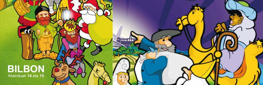Campaña publicitaria Navidad.