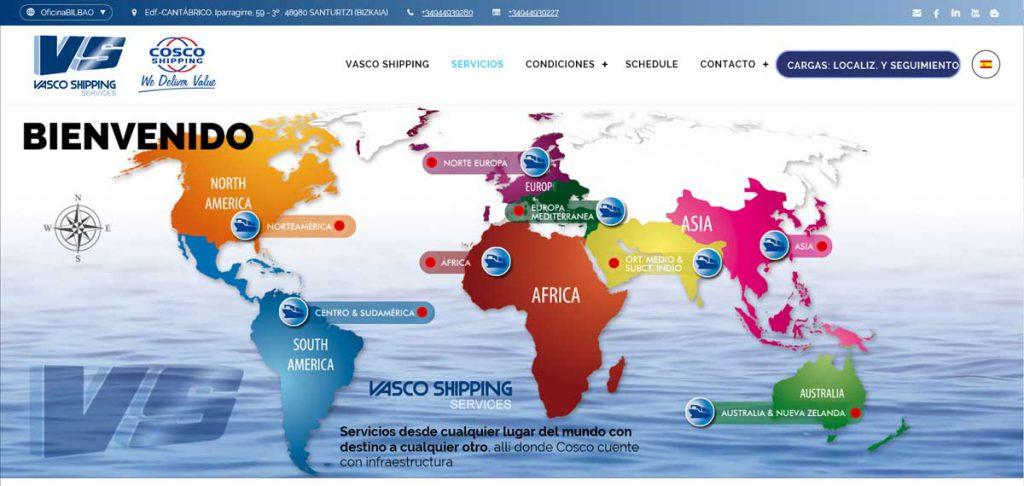 Vasco Shipping Services